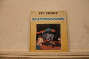 Funny book for kids featuring Deathbox pro Wurzel introducing skateboarding to masses with a photo essay of his trip to a Southsea skatepark contest.