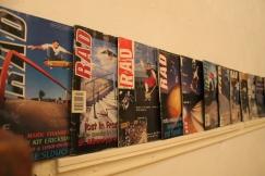 Classic RAD Magazine covers featuring Carl Shipman, Mark Channer, Matt Pritchard, Ben Jobe and more...