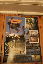 Old feature on 'Jumping' Geoff Rowley from short-lived Phat magazine.